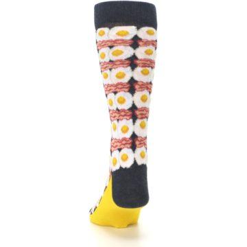 Image of Eggs and Bacon Men's Dress Socks (back-17)