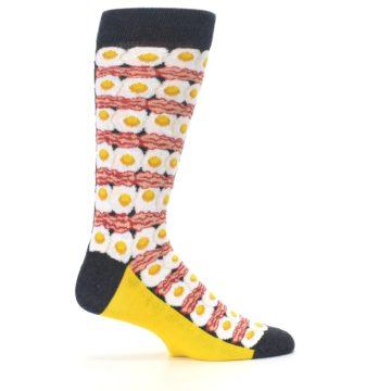 Image of Eggs and Bacon Men's Dress Socks (side-1-24)