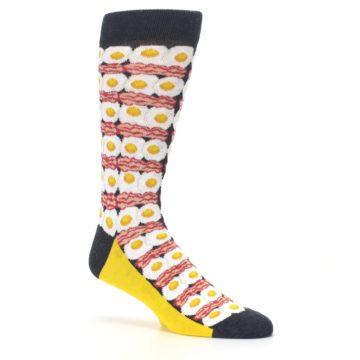 Image of Eggs and Bacon Men's Dress Socks (side-1-26)