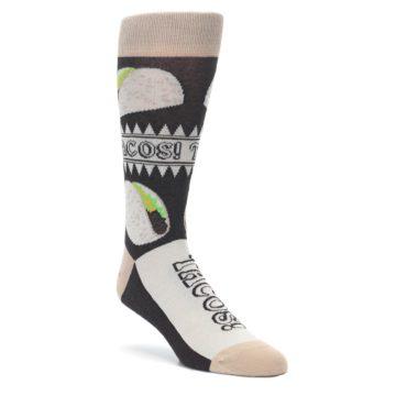 Brown Soft Shell Taco Socks by Statement Sockwear