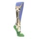 Blue-Green-Lovely-Llama-Womens-Knee-High-Socks-Mod-Sock