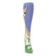Image of Blue Green Lovely Llama Women's Knee High Socks (front-04)