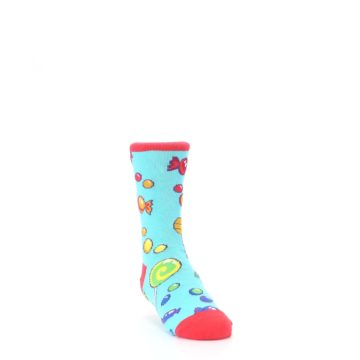Image of Blue Candy Shop Kid's Dress Socks (side-1-front-02)