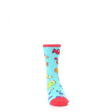 Image of Blue Candy Shop Kid's Dress Socks (side-1-front-03)
