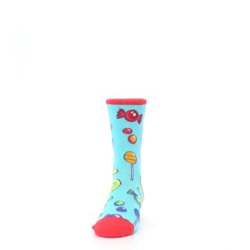 Image of Blue Candy Shop Kid's Dress Socks (front-05)