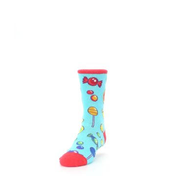 Image of Blue Candy Shop Kid's Dress Socks (side-2-front-06)