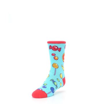 Image of Blue Candy Shop Kid's Dress Socks (side-2-front-07)