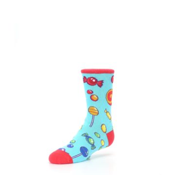Image of Blue Candy Shop Kid's Dress Socks (side-2-front-08)