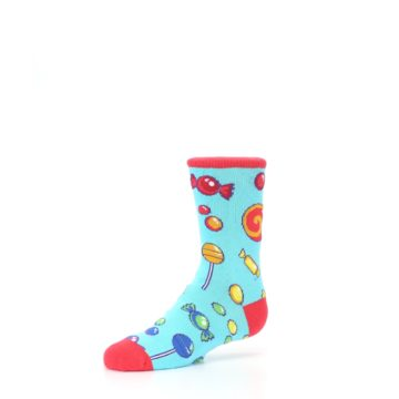 Image of Blue Candy Shop Kid's Dress Socks (side-2-09)
