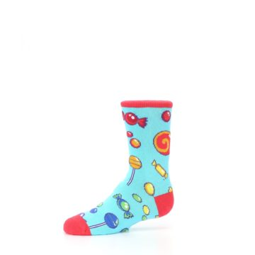 Image of Blue Candy Shop Kid's Dress Socks (side-2-10)