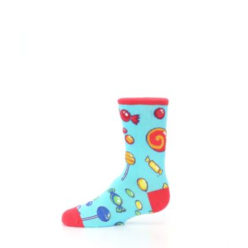 Image of Blue Candy Shop Kid's Dress Socks (side-2-11)