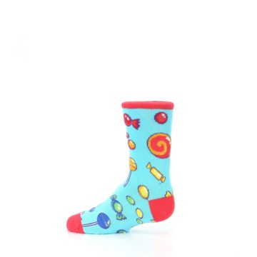 Image of Blue Candy Shop Kid's Dress Socks (side-2-12)