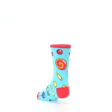 Image of Blue Candy Shop Kid's Dress Socks (side-2-back-15)