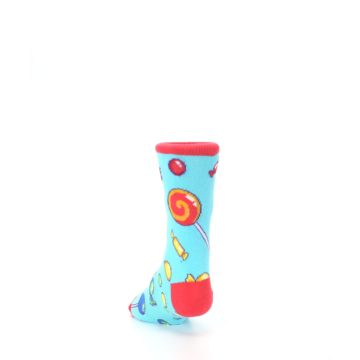 Image of Blue Candy Shop Kid's Dress Socks (side-2-back-16)