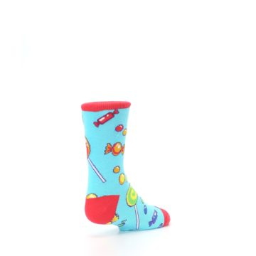 Image of Blue Candy Shop Kid's Dress Socks (side-1-back-21)