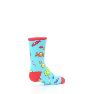 Image of Blue Candy Shop Kid's Dress Socks (side-1-back-22)