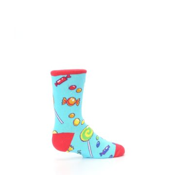 Image of Blue Candy Shop Kid's Dress Socks (side-1-23)
