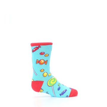 Image of Blue Candy Shop Kid's Dress Socks (side-1-24)