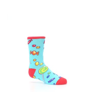 Image of Blue Candy Shop Kid's Dress Socks (side-1-25)