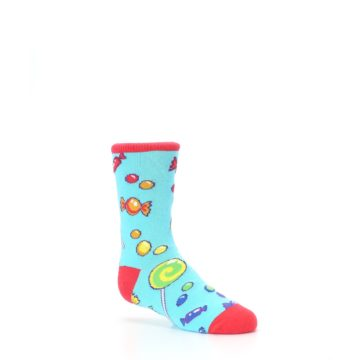 Image of Blue Candy Shop Kid's Dress Socks (side-1-26)