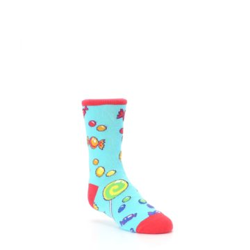 Image of Blue Candy Shop Kid's Dress Socks (side-1-27)