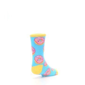 Image of Blue Pink Donuts Kid's Dress Socks (side-1-back-21)