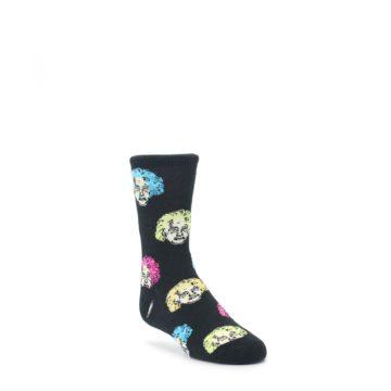 Black Einstein Genius Kids Dress Socks Socksmith