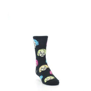 Image of Black Einstein Genius Kid's Dress Socks (side-1-front-02)
