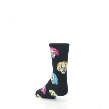 Image of Black Einstein Genius Kid's Dress Socks (side-2-back-15)
