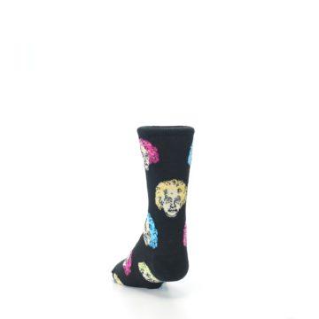 Image of Black Einstein Genius Kid's Dress Socks (side-2-back-16)
