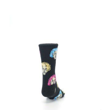 Image of Black Einstein Genius Kid's Dress Socks (back-19)