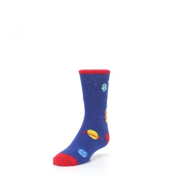 Image of Solar System Outer Space Planets Kid's Dress Socks (side-2-front-07)