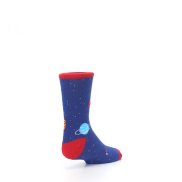Image of Solar System Outer Space Planets Kid's Dress Socks (side-1-back-21)