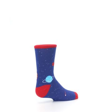 Image of Solar System Outer Space Planets Kid's Dress Socks (side-1-back-22)