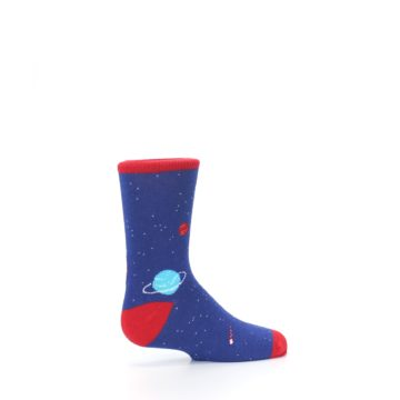 Image of Solar System Outer Space Planets Kid's Dress Socks (side-1-23)