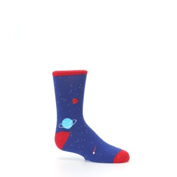 Image of Solar System Outer Space Planets Kid's Dress Socks (side-1-25)