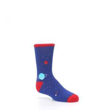 Image of Solar System Outer Space Planets Kid's Dress Socks (side-1-26)