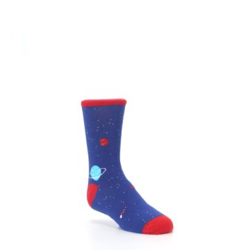 Image of Solar System Outer Space Planets Kid's Dress Socks (side-1-27)