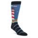 Image of Blue Red White Lighthouse Men's Dress Socks (side-1-front-01)
