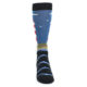 Image of Blue Red White Lighthouse Men's Dress Socks (front-04)