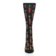 Image of Black Orange Carrots Women's Dress Socks (front-05)