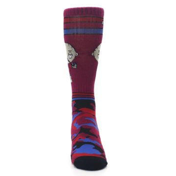 Image of Family Guy Stewie Camo Men's Casual Socks (front-04)