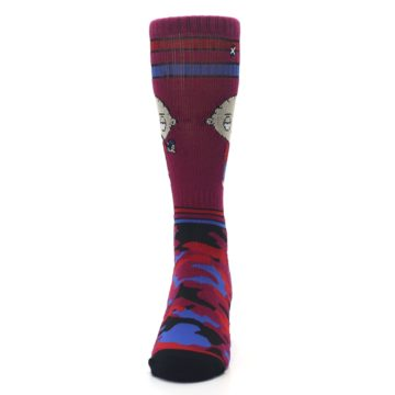 Image of Family Guy Stewie Camo Men's Casual Socks (front-05)