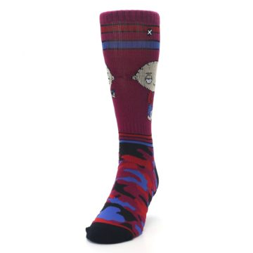 Image of Family Guy Stewie Camo Men's Casual Socks (side-2-front-06)