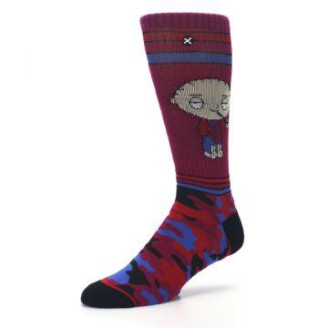 Image of Family Guy Stewie Camo Men's Casual Socks (side-2-09)