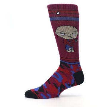 Image of Family Guy Stewie Camo Men's Casual Socks (side-2-11)