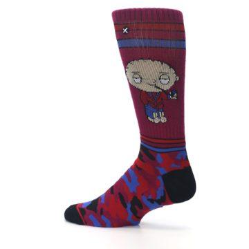 Image of Family Guy Stewie Camo Men's Casual Socks (side-2-13)