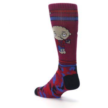Image of Family Guy Stewie Camo Men's Casual Socks (side-2-back-15)