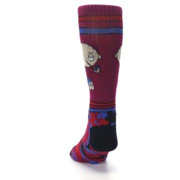 Image of Family Guy Stewie Camo Men's Casual Socks (back-17)