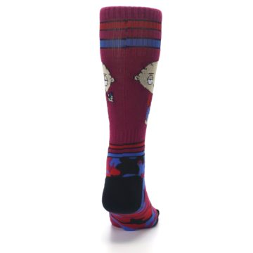 Image of Family Guy Stewie Camo Men's Casual Socks (back-19)